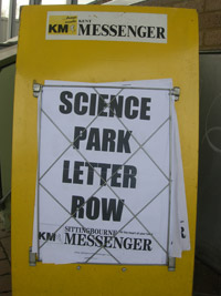 KM Science Park Letter Row