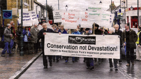 Protest March 2011