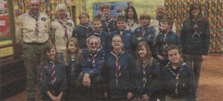 Scouts Help the Heros