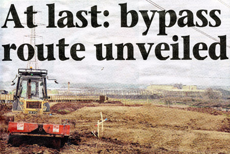At Last: bypass route unveiled